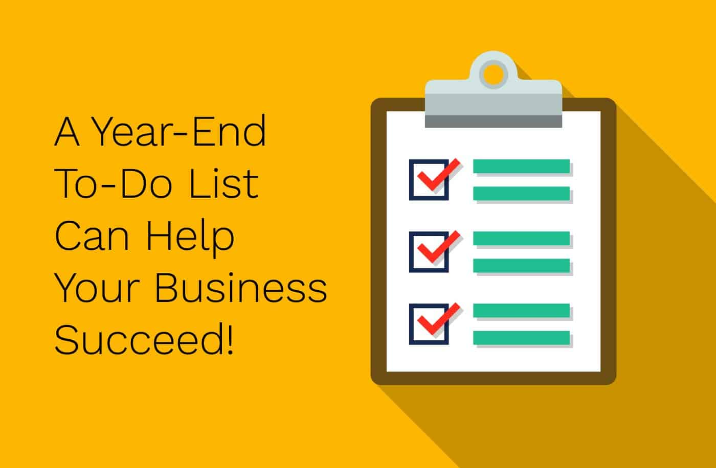 Year-end To-do List