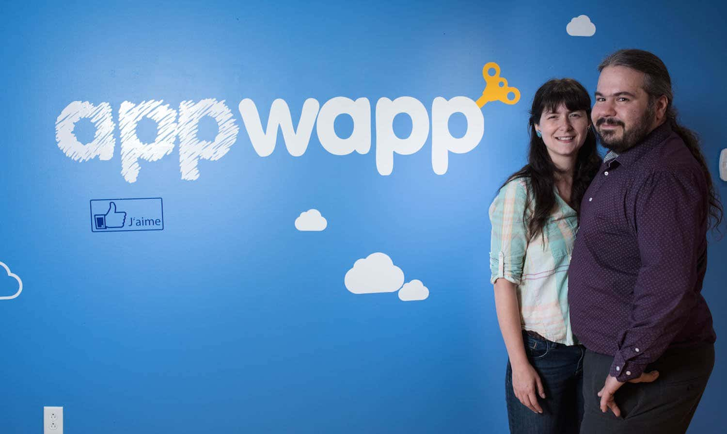 Jean-Rene and Sabrina from Appwapp