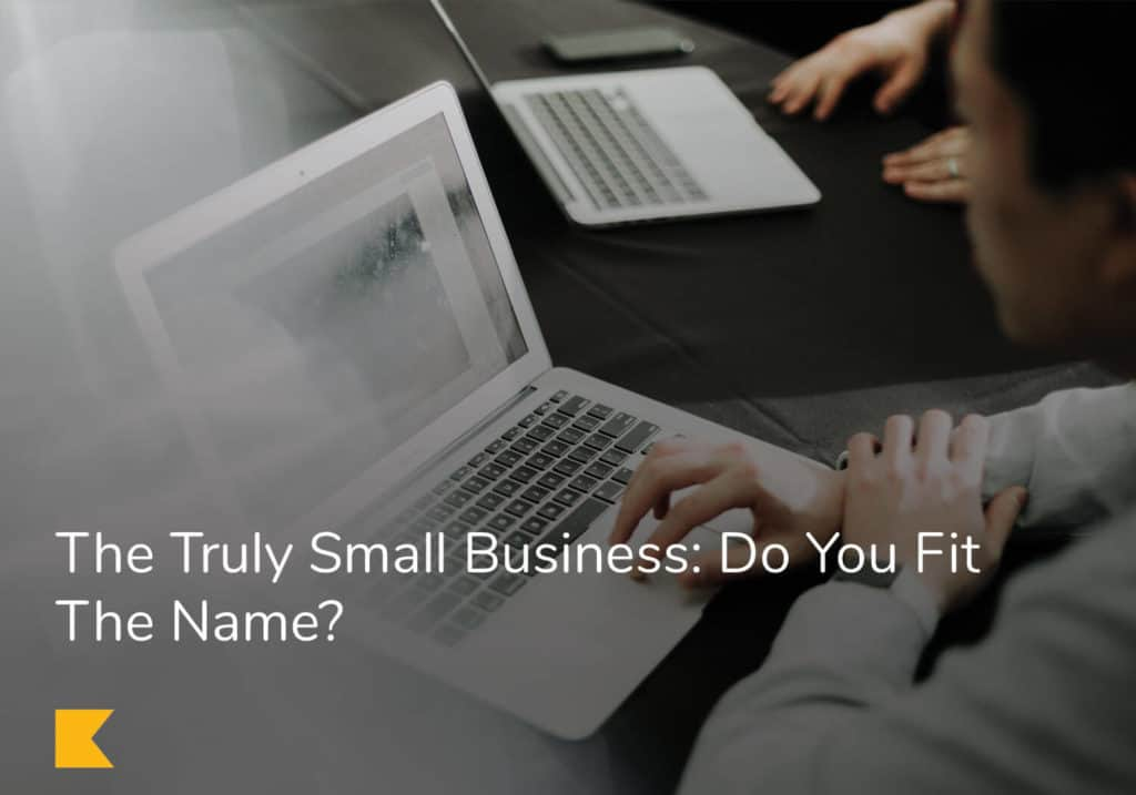 The Truly Small Business: Do You Fit The Name?